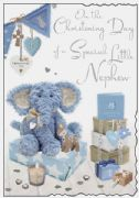 Nephew Christening Card